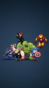 Funny Avengers - The iPhone Wallpapers