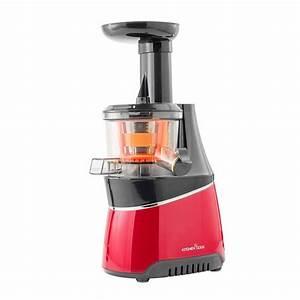 Extracteur De Jus Kitchen Cook : extracteur de jus 150w 800ml 1300ml kitchencook mod le vitae red ~ Melissatoandfro.com Idées de Décoration