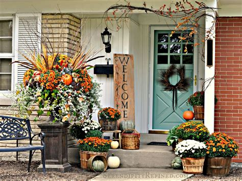 fabulous outdoor decorating tips  ideas  fall zing