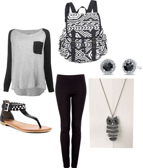 20 Great Polyvore Outfits for School - Pretty Designs