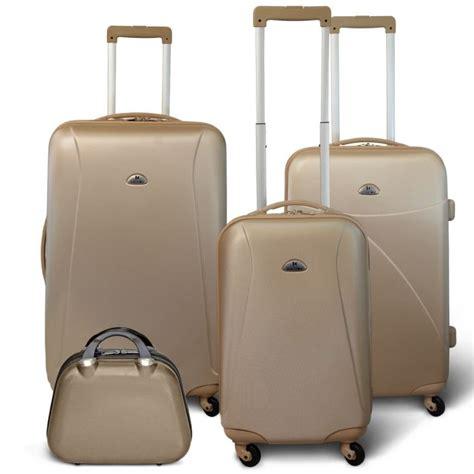 kinston set 3 valises vanity beige achat vente set de valises kinston set 3 valises