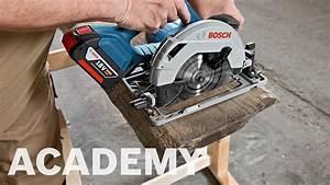 Bosch Gks 18v : bosch academy batteridrevet rundsav gks 18v 57 g youtube ~ A.2002-acura-tl-radio.info Haus und Dekorationen
