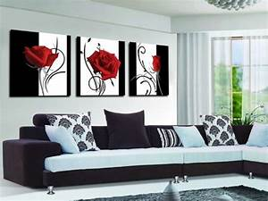 15 best collection of red and black canvas wall art With kitchen colors with white cabinets with black white and red canvas wall art