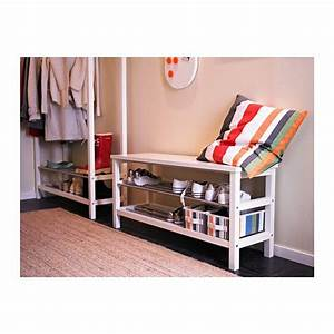 Schlafzimmer Bank Ikea : tjusig bank mit schuhablage wei bank mit schuhablage ~ Lizthompson.info Haus und Dekorationen