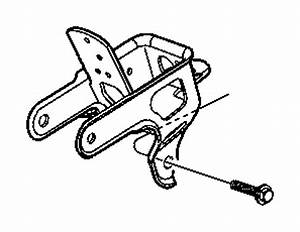 Chrysler Town  U0026 Country Automatic Transmission Mount Bracket  2 4 Liter  Trans Support  3 3