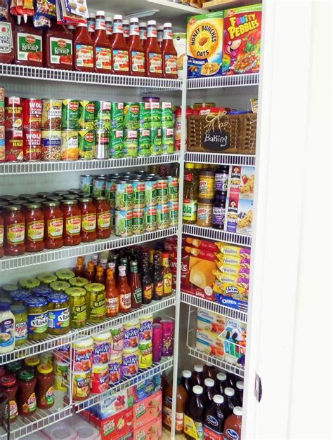 diy closet system pantry organization how to maintain your stockpile be
