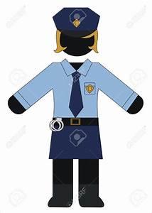 Police uniform clipart - Clipground