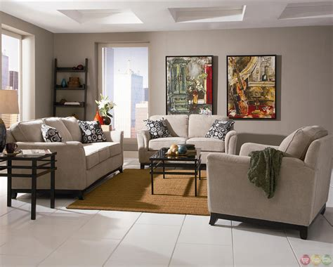 carver chenille fabric living room sofa and loveseat set