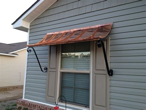 ft curved copper window  door awning  decorative scrolls ebay