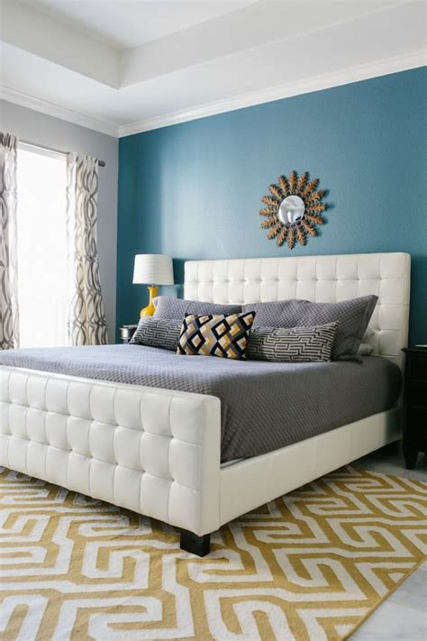 Bedroom Colors With Accent Wall by Best 25 Yellow Accent Walls Ideas On Yellow