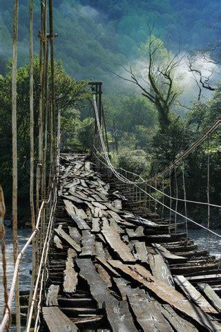 bridges  rope bridge