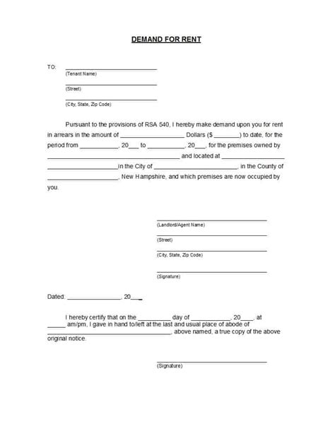 Demand Letter Template 40 Best Demand Letter Templates Free Sles Template Lab
