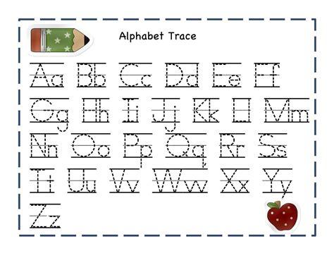alphabet worksheets for preschoolers preschool