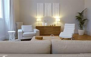 Salle De Bain Cosy : beige lin blanc coton un cabinet de psychoth rapie ~ Dailycaller-alerts.com Idées de Décoration