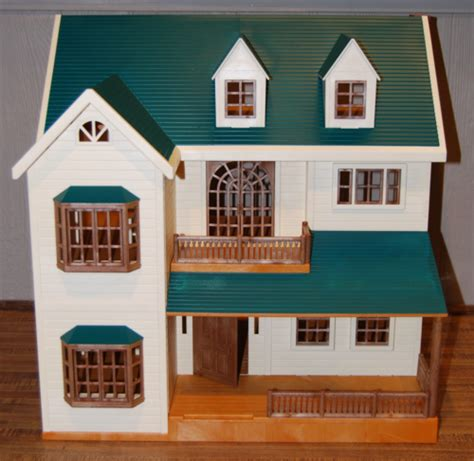 calico critters deluxe house calico critters lost found vintage toys