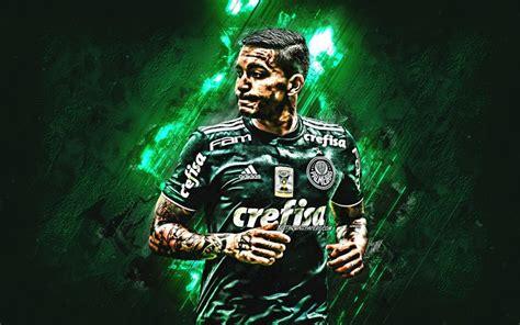 Download wallpapers Dudu, grunge, Palmeiras FC, close-up ...
