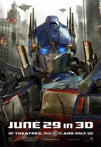 New Transformers 3 Posters: Optimus Prime & Bumblebee ...