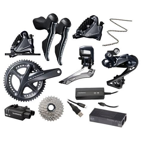 shimano ultegra di2 r8050 r8070 groupset 2x11 speed hydraulic disc brakes flat mount