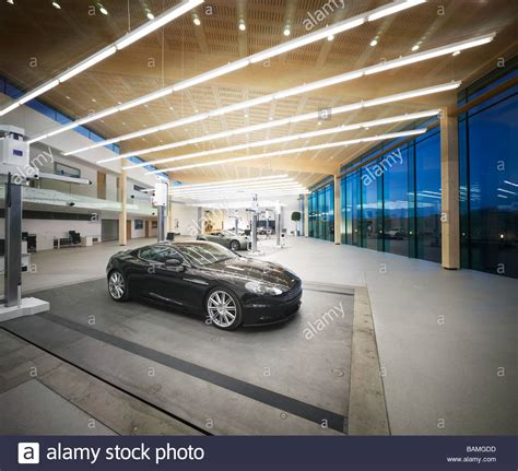 aston martin design studio weedon partnership architects