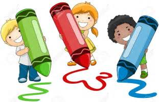 Child Writing Clip Art