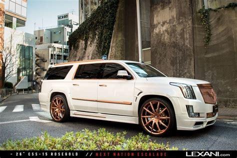 lexani wheels   cadillac escalades