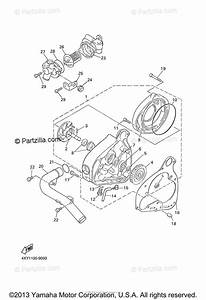 Yamaha Motorcycle 2005 Oem Parts Diagram For Water Pump