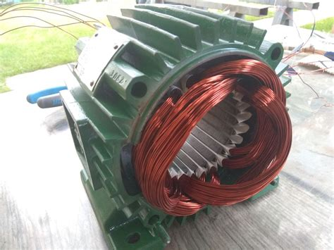 Motor Rewinding by Rewinding 3 Phase Motor 54 Steps With Pictures