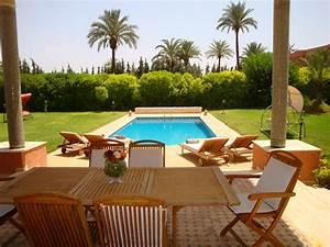 location saisonnire villa 4 chambres palmeraie pgp With location villa avec piscine a marrakech