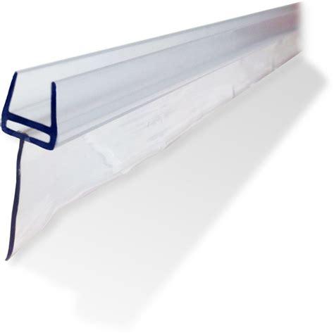 shower door sweep frameless shower glass door sweep large glass door gap