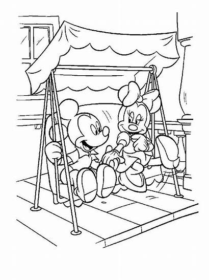 Minnie Mickey Mouse Coloring Pages Disney Printable