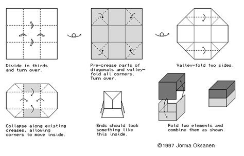 Mike Origami Diagram Links Boxes Containers