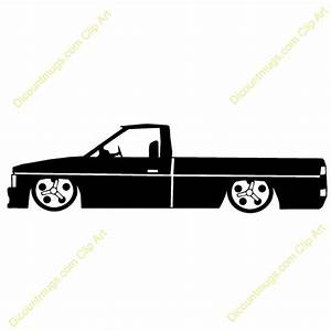 Lowrider Truck (side view) | Clipart Panda - Free Clipart ...