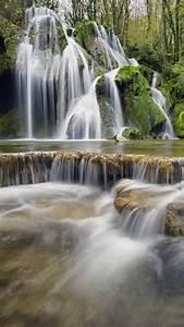 wallpaper waterfall europe 4k nature 19252