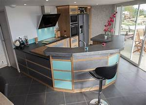 best comptoir de cuisine americaine photos antoniogarcia With cuisine ouverte avec comptoir