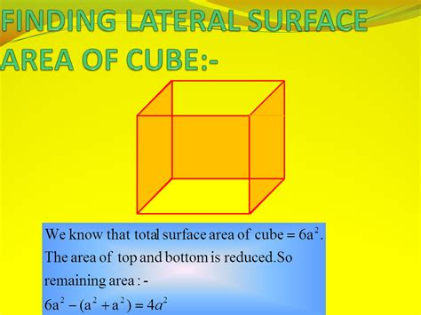 Surface Area And Volume  Presentation Mathematics Sliderbase