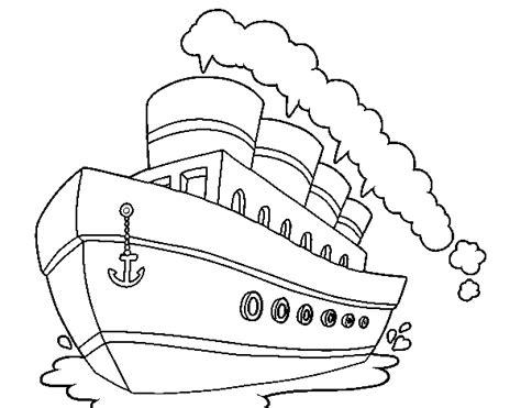 Dibujo Barco Titanic Para Colorear by Dibujo De Transatl 225 Ntico Para Colorear Dibujos Net
