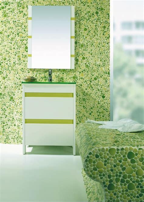 Salle De Bain Mosaique Vert Galets