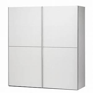 Penderie Porte Coulissante : armoire penderie verona 2 portes coulissantes ~ Dallasstarsshop.com Idées de Décoration