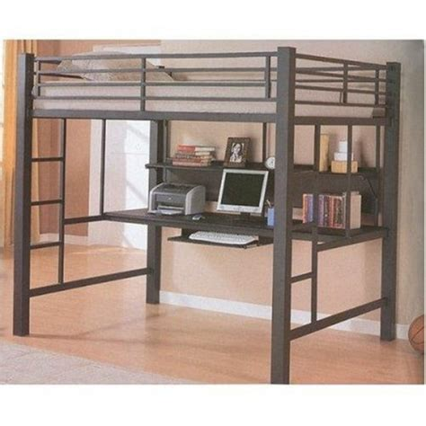 bunk bed with desk and 20 loft beds with desks to save kid s room space kidsomania