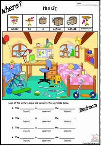 PREPOSITION OF PLACE - in - on - under - behind - beside ...