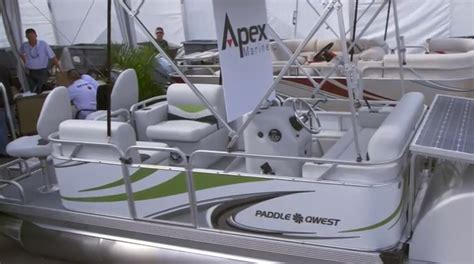 Paddle Boat For Sale Miami by 2014 Paddle Qwest Pontoon Boat Look Boats
