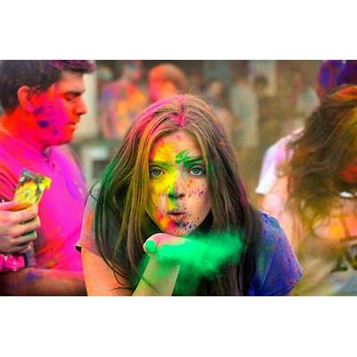 Holi - the festival of colors around world! Stories