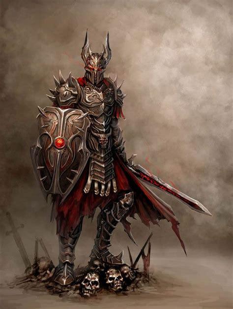 Warrior #warrior #shield #sword | Dark fantasy art ...