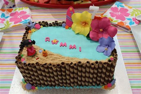 Hawaiian Pool Party Birthday Party Ideas