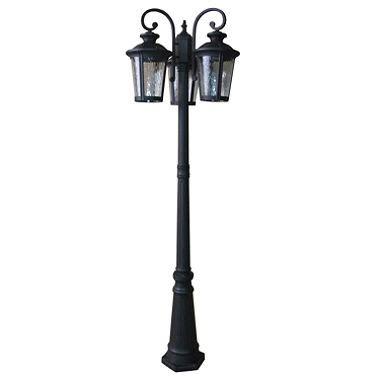 outdoor 3 light post lantern sam s club