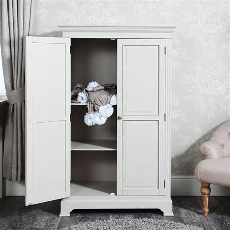 Low Wardrobe Closet by Linen Closet Low Wardrobe Daventry Grey Range