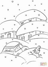 Weather Coloring Pages Winter Cold Sunny Printable Colouring Sheets Supercoloring Getcolorings Fun Sheet Print Colorings Weathervane Spring Pag Puzzle Paper sketch template