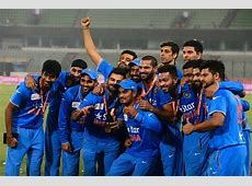 India Cricket Team Schedule for 2016