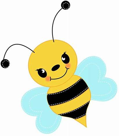 Bee Bumble Clipart Clip Bees Cliparts Busy