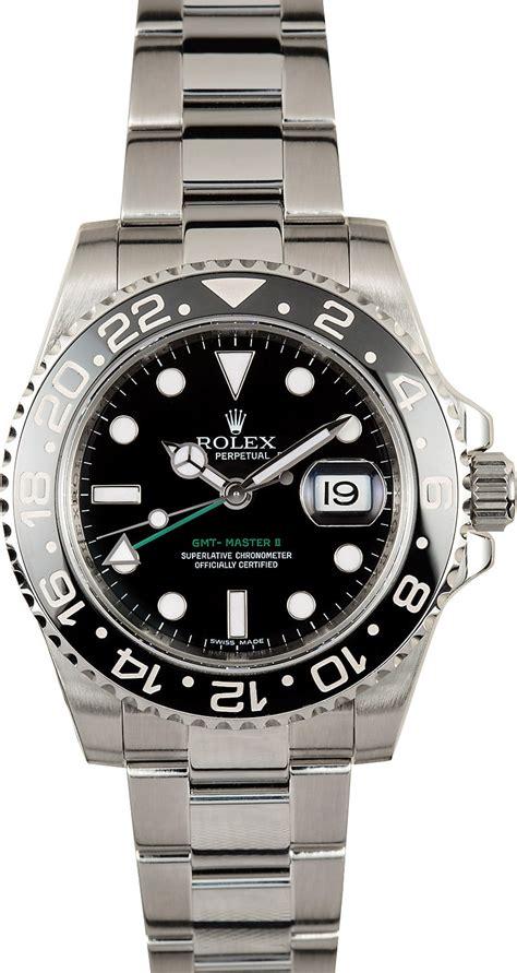 Rolex GMT Master II Black 116710 Green GMT Hand